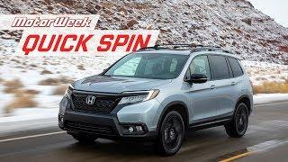 2019 Honda Passport | Quick Spin