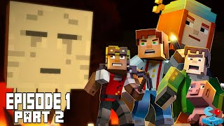 Minecraft: Story Mode - Episode 1: The Order of the Stone - Part 2