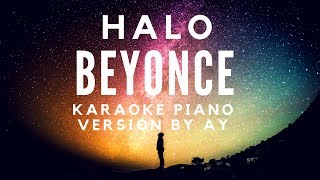 Halo - Beyonce (Piano Karaoke Version)