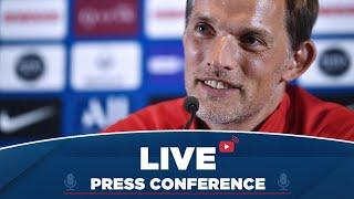 Conférence de presse de Thomas Tuchel avant Olympique Lyonnais - Paris Saint-Germain