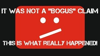 """It was NOT a """"Bogus"""" Claim! - Response Video"""