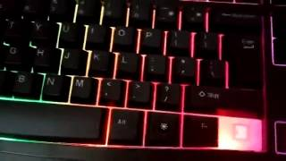 HAVIT Rainbow Backlit Wired Gaming Keyboard and Mouse Combo Review