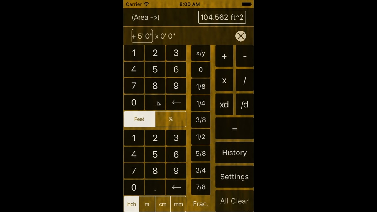 Feet and inches calculator tutorial youtube feet and inches calculator tutorial biocorpaavc