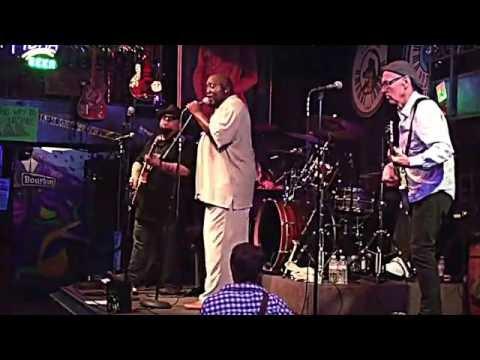 Sugaray Rayford Blues Band rockin' Bourbon St Blues & Boogie Bar, Nashville