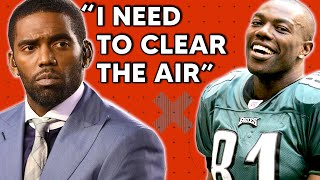 """Randy Moss - """"I need you to clear the air with me"""""""