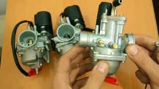 Tuning Yamaha Jog uchun carburetors
