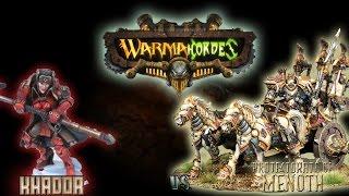 Warmachine & Hordes - Khador (E-Sorcha) vs. Protectorate of Menoth (E-Reznik) - 50pt Battle Report