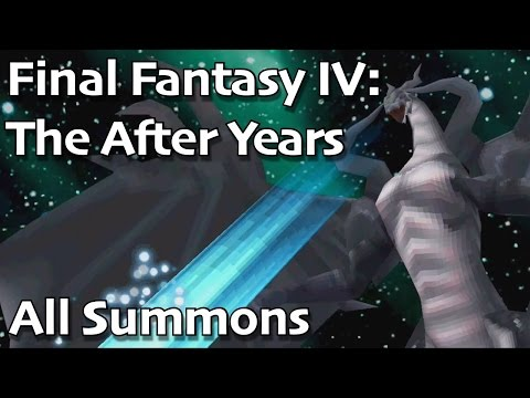 Final Fantasy IV: The After Years IOS - All Summons