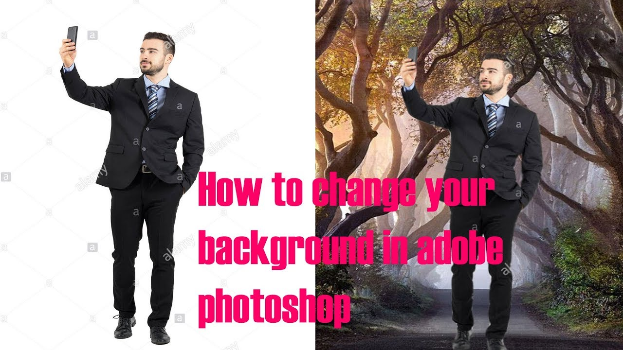 how to change your background