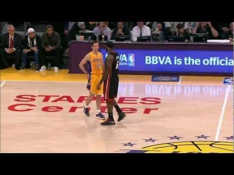 Inside Trax: Heat vs. Lakers