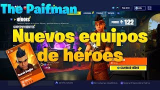 🧐GUIDE HEROES TEAM(BUILD NINJA )[Fortnite Save the World]Team Advantages-THE PAIFMAN