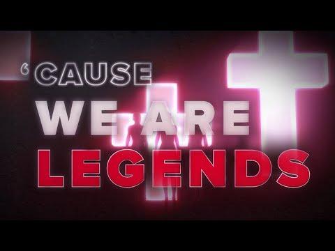 Hardwell & KAAZE & Jonathan Mendelsohn - We Are Legends [Lyric Video]