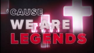 Hardwell KAAZE Jonathan Mendelsohn We Are Legends Lyric Video