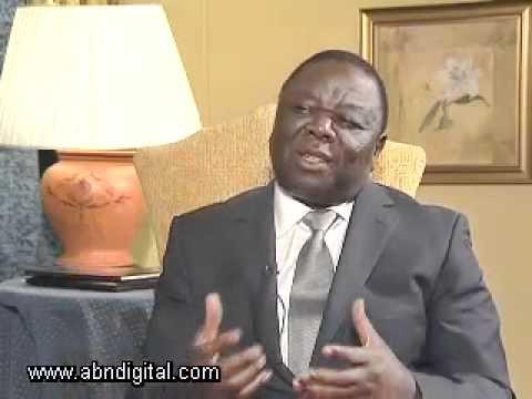 Morgan Tsvangirai - Zimbabwean Prime Minister - Part 1
