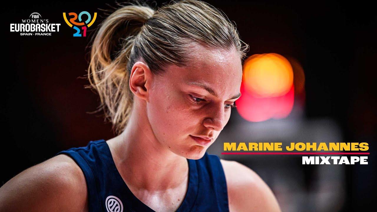 Full Highlights Mixtape • Marine Johannes 🇫🇷    FIBA Women's EuroBasket 2021