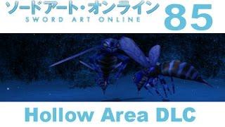 Sword Art Online: Hollow Fragment - PS VITA Walkthrough 85 DLC - Ice Fog Forest