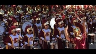 USC Marching Band Heritage Hall 9/19/15 Killers Bones Hoobastank Stanford Countermarch Tusk