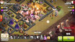 INSANIAM vs LEYENDAS AE-E2 #2 | Clash of clans