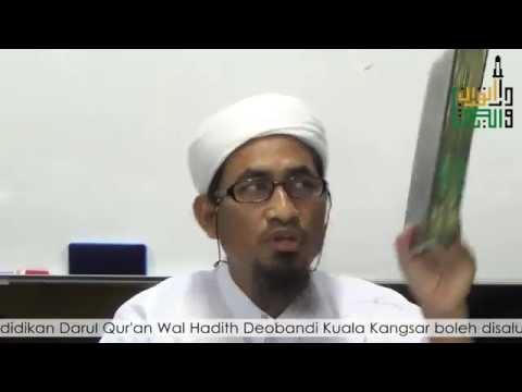 Maulana Fakhrurrazi   Pengajian Hadith Sunan Abu Daud 14.11.2014