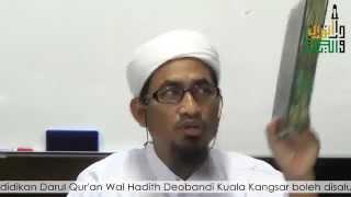 Maulana Fakhrurrazi | Pengajian Hadith Sunan Abu Daud 14.11.2014
