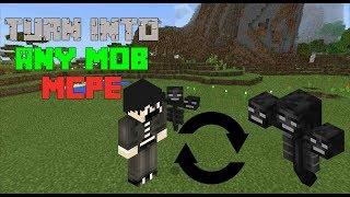 How to turn into ANY MOB in MINECRAFT