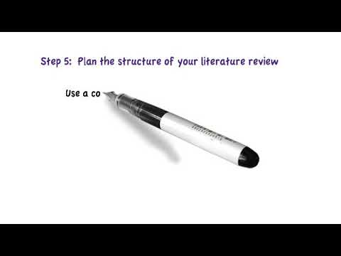 Writing A Literature Review For A Journal Article