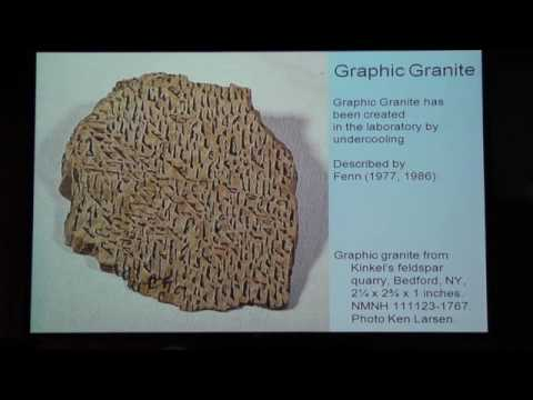 Granitic pegmatites Formation and mining Presented by Mark Jacobson, Retired Chevron Corporation