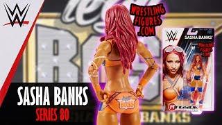 WWE FIGURE INSIDER: Sasha Banks - WWE Series 80