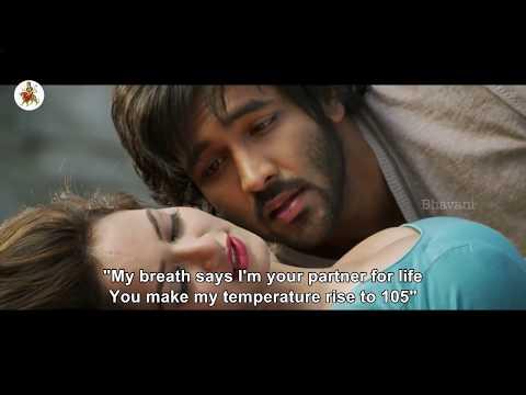 Nee Meeda Ottu Full Romantic Video Song    Rowdy Movie Songs     Manchu Vishnu, Shanvi Srivastava