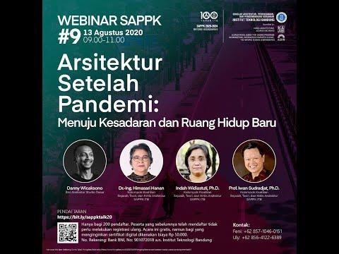 Webinar SAPPK 2020 #9: Arsitektur Setelah Pandemi