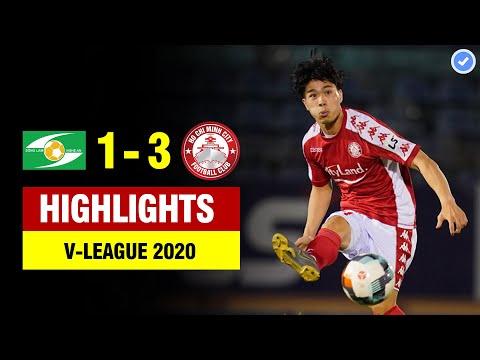 Highlights SLNA 1-3 TP HCM | Công Phượng tỏa sáng rực rỡ - TP HCM đè bẹp SLNA | V-league 2020