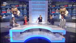 Benatia insultato in diretta alla Rai