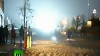 Dramatic amateur footage: ConEdison NYC power station blast