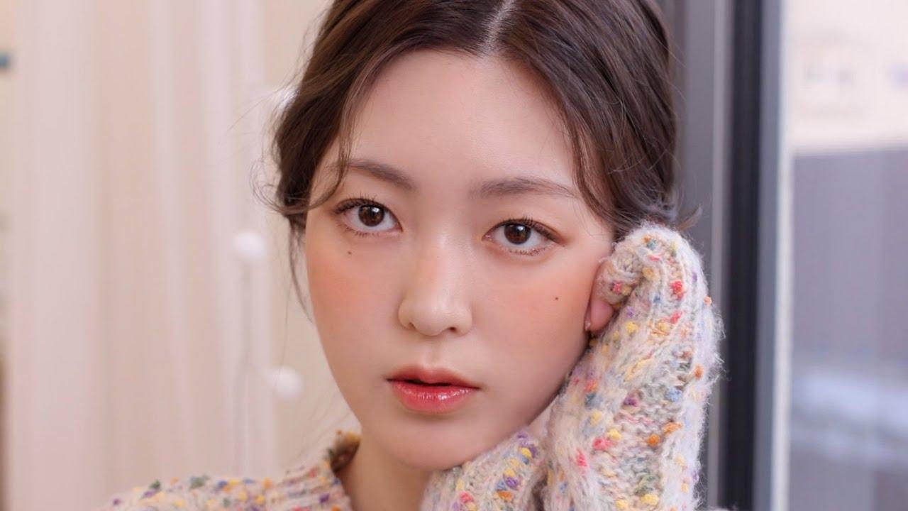 (subs)GRWM 겨울=귤🍊 싱귤탱귤 데일리 메이크업(봄웜 추천 메이크업) Winter tangerine makeup | CHES 체스