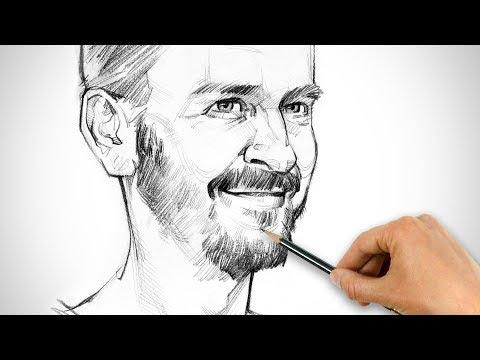 How To Draw A Self Portrait (SEXY BOI STYLE)