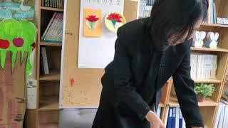 애틀랜타 제일한국학교 기초반 미술수업 카네이션 만들기