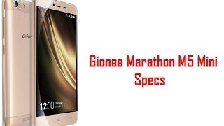 Gionee Marathon M5 Mini Specs, Features & Price