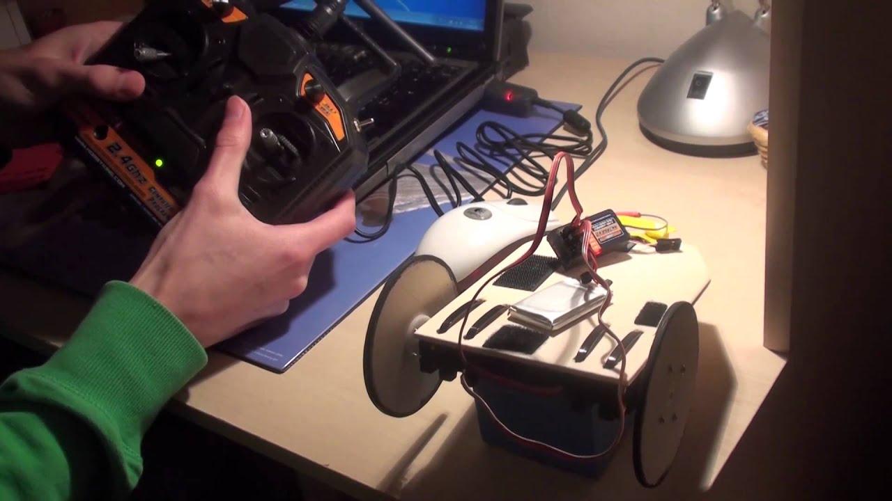 Construction Dun Robot Tlcommand Rglages Sur La