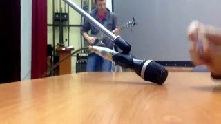 Pen tapping + E-guitar