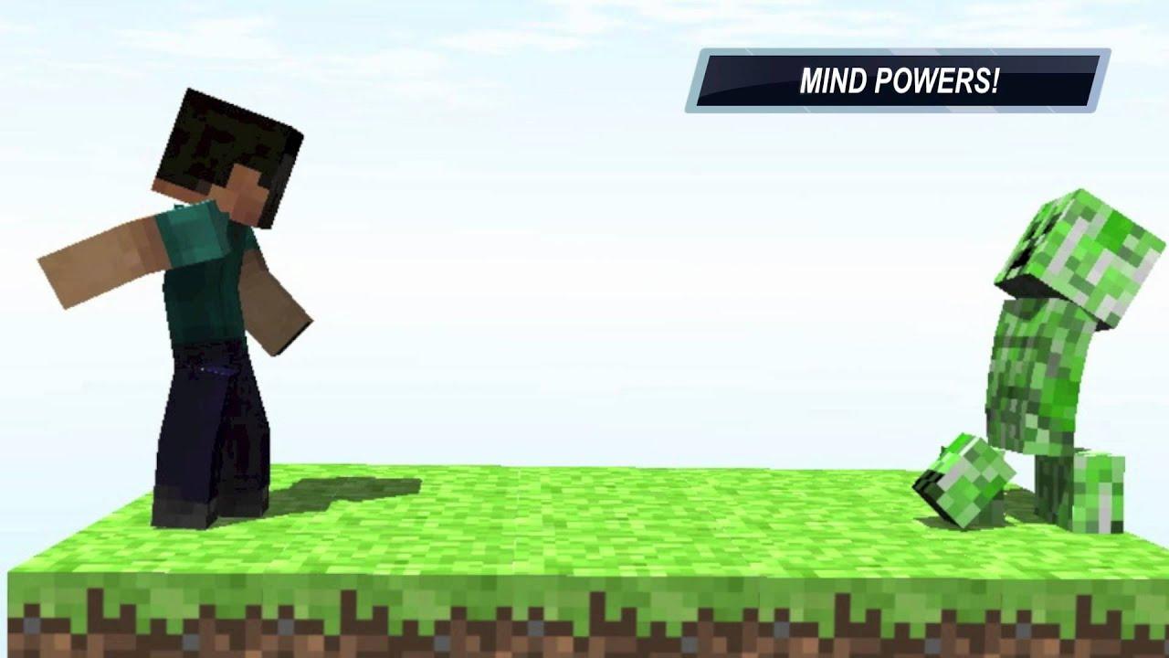 Steve vs creeper epic minecraft fight hd youtube - Minecraft creeper and steve ...