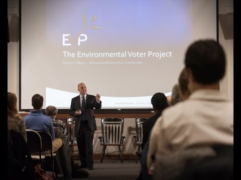 The Environment and Society: Keynote Address by Nathaniel Stinnett
