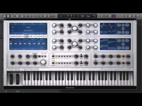 Tone 2 Nemesis: Waveshape Soft/Hard