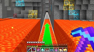 Minecraft UHC but you can only walk in a straight line..