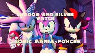 Shadow And Silver Watch Sonic Mania And Forces