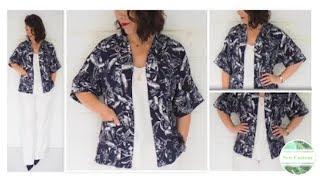 The Making of a Kimono Style Jacket