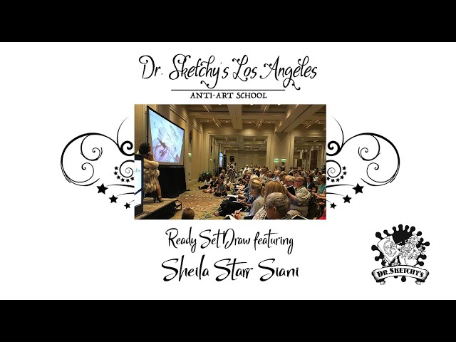 Dr. Sketchy's Los Angeles ~ Ready - Set - Draw! at SketchKon2018