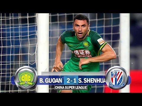 Beijing Guoan 2-1 Shangai Shenhua / China Super League 2017 / Relato Gustavo Cima