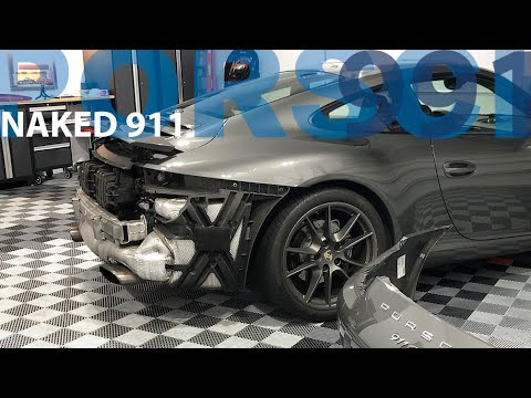 Naked 911 (Rear Bumper Removal, Air Filter Replacement) – Porsche 911 991