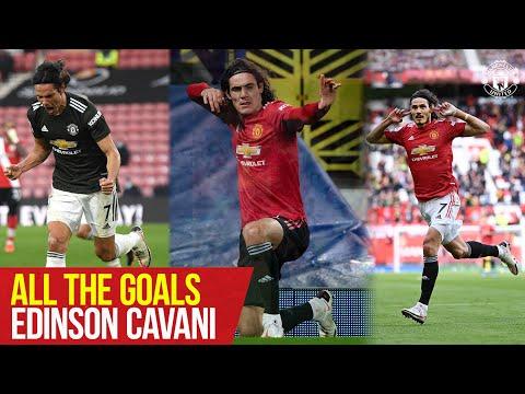 All The Goals | Edinson Cavani | Manchester United Season Review 2020/21