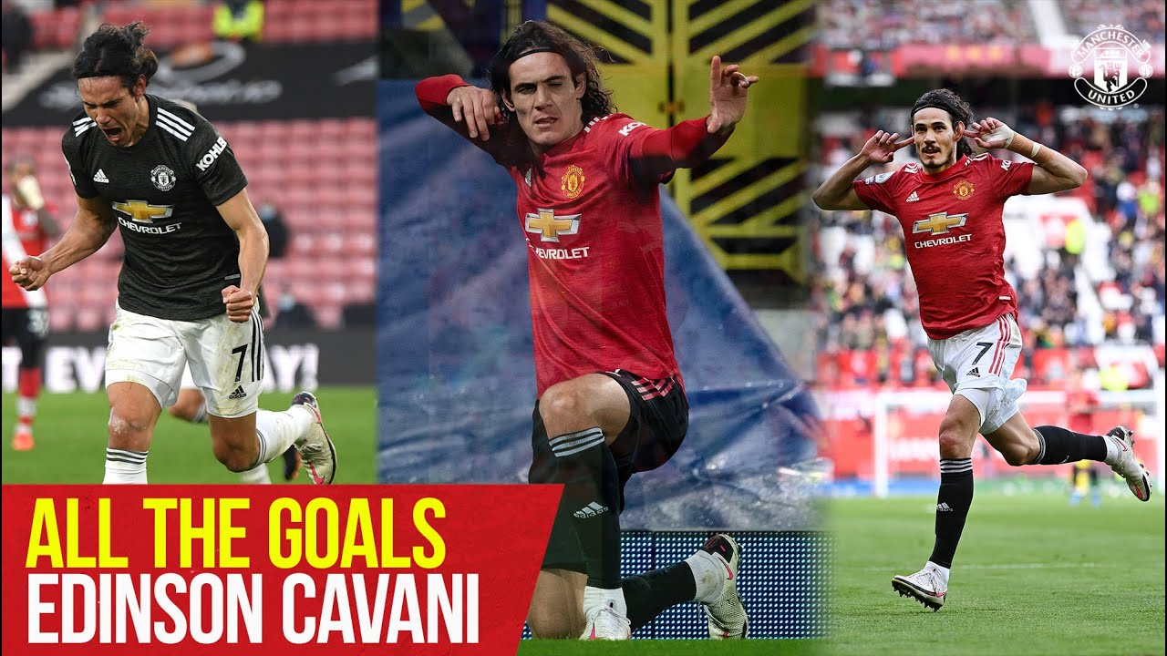 Download All The Goals   Edinson Cavani   Manchester United Season Review 2020/21